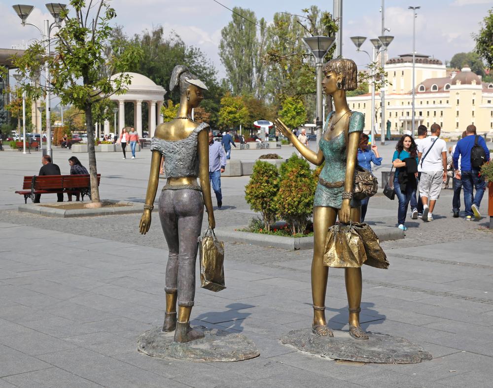 üsküp-heykeller
