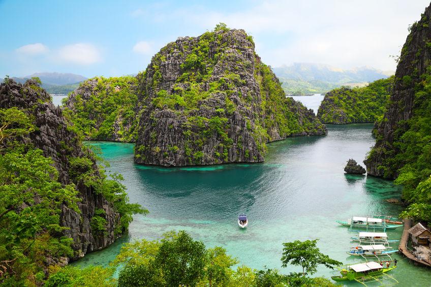 46252355 - landscape of coron, busuanga island, palawan province, philippines